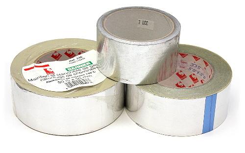Lepící pásky hliníkové